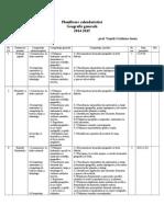 Planificare Calendaristică Cls a v-A 2014-2015