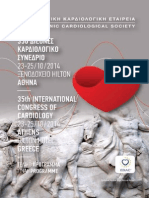 Programme of the 35th Panhellenic Congress of Cardiology