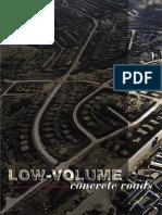 Low-Volume Concrete Roads