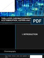 Thin-layer Chromatography of Acetaminophen, Aspirin and Caffeine