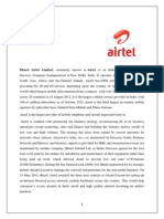 markeeting of Airtel.docx