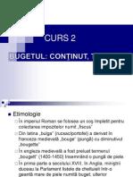 Curs 2 buget si trezorerie publica - Bugetul, Continut, Tipologie