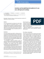3D multiscale segmentation and morphological analysis of x-ray microtomography from cold-sprayed coatings