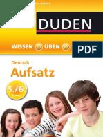 Duden WissenÜbenTesten Deutsch Aufsatz 5 6KL