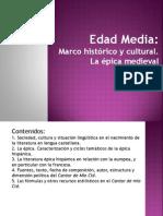 Tema 4. La literatura en la Edad Media.