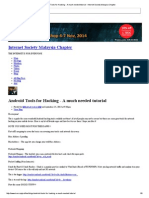 Android Tools for Hacking - A Much Needed Tutorial - Internet Society Malaysia Chapter