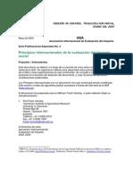 2004 PREVAL - Principios Internacionales de Evaluacion de Impacto Social
