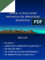 Saliva Biochimie