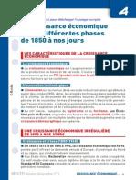 Fiche Defibac La Croissance Economique Et Ses Differentes Phases de 1850 a Nos Jours