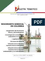 Movimiento sindicalista en Colombia