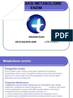 tipe reaksi Metabolisme Enzim Ppt
