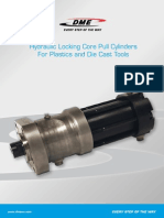 Hydraulic Locking Core Pull Cylinders UK