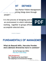 Management Concepts and Planning