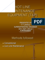 Live Line Maintenance Tec Hniques