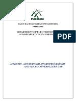 microprocessor ece lab manual.doc