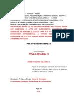 Modelo de Projeto de Dissertacao de Mestrado