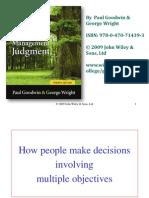 Decision analyses