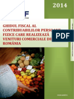 GHID ANAF 2014 PFA Activitati Comerciale