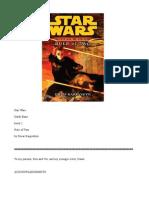 Darth trilogy bane wars pdf star