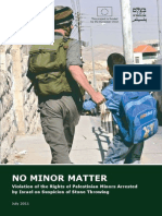 No Minor Matter