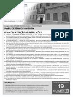 Quadrix 2012 Dataprev Analista de Tecnologia Da Informacao Desenvolvimento Prova