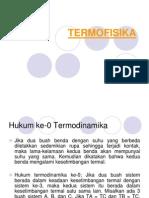 Biofisika - Pertemuan 13 - Termofisika