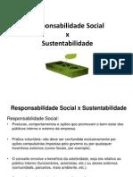 Seminário - Respons. Social x Sustentabilidade