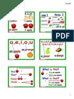 Plural Singular Flashcards