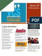 EP Newsletter November 2014