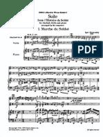 Stravinsky - Histoire Du Soldat Suite Full Score