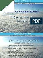 Técnica para anclajes en PNL