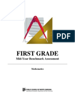 1st grade mid-year student assessment