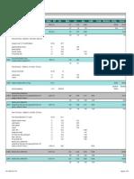 52- Process Plant Buildings Estimate Detail