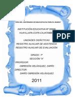 Modelo de Caratulas para estudiantes