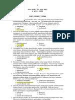 Soal Try Out Ujian Kompetensi - UKDI