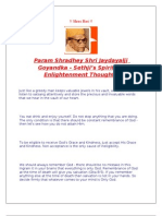 Spiritual Enlightenment Thoughts by Param Shradhey Shri Jaydayalji Goyandka-Sethji in english
