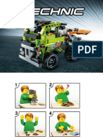 Schema - Lego Race Truck