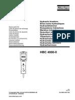 Atlas Copco Hbc 4000