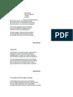 Poesías de Alfonsina Storni en español
