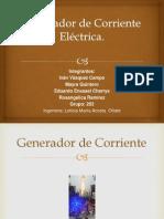 Generador de Corriente Eléctrica