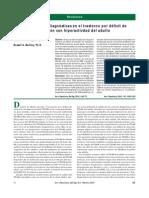 Caracteristicas de La Alteracion Neuropsicologicas Del Tdah