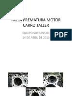 FALLA PREMATURA MOTOR CARRO TALLER.pptx