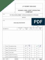 03 2359 03 P 3 004 Rev 3 Span Analysis Report