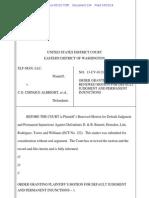 Elf-Man v. Albright - Statutory Damages