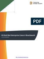 Cis Red Hat Enterprise Linux 6 Benchmark v1 3 0