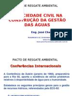 A Sociedade Civil na Construção da Gestão das Águas