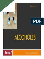 7. Alcoholes