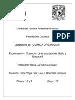 Química Orgánica 3 Practica 3