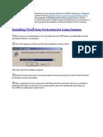 Install Configure Tdp Domino
