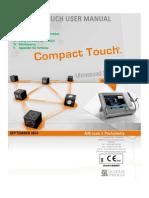 Manual User Compact Touch XE CTT ME an 140905